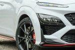 Hyundai Kona N 2021 front lights detail