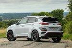 Hyundai Kona N 2021 rear left static