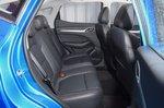 2021 MG ZS rear seats