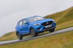 2021 MG ZS wide front cornering