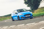Ford Fiesta ST 2021 front right cornering