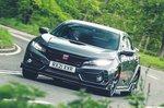 Honda Civic Type R Sport Line 2021 front cornering