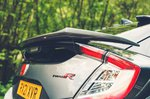 Honda Civic Type R Sport Line 2021 rear spoiler detail
