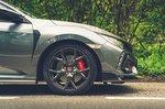 Honda Civic Type R Sport Line 2021 alloy wheel detail