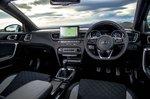 Kia ProCeed 2021 interior dashboard