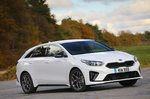 Kia ProCeed 2021 front right static