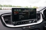 Kia XCeed PHEV 2021 interior infotainment