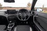Kia Ceed 2021 interior dashboard