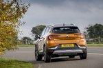 Renault Captur 2021 rear cornering