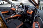 Renault Captur 2021 interior front seats