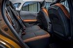 Renault Captur 2021 interior rear seats
