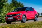 Volkswagen T-Roc 2021 front left tracking