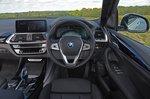 BMW iX3 2021 interior dashboard