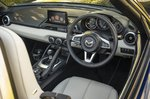 Mazda MX-5 2021 interior dashboard
