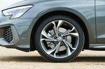 Audi A3 Sportback 2021 alloy wheel detail