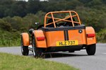 Caterham Seven 170 R 2021 rear tracking
