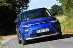 Kia Soul EV 2021 front tracking