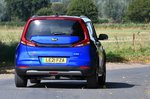 Kia Soul EV 2021 rear tracking