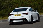 Lexus RC F 2021 rear tracking