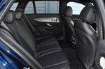 Mercedes E-Class Estate 2021 interior rear seats