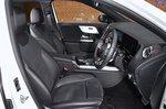 Mercedes EQA 2021 interior front seats