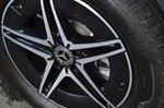 Mercedes EQA 2021 alloy wheel detail