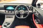 Mercedes E-Class Cabriolet 2021 interior dashboard