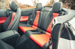 Mercedes E-Class Cabriolet 2021 interior rear seats