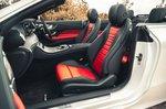 Mercedes E-Class Cabriolet 2021 interior front seats