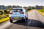 MG ZS EV 2021 rear tracking