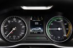 MG ZS EV 2021 interior driver display