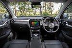 MG ZS EV 2021 interior dashboard