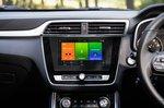MG ZS EV 2021 interior infotainment