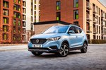 MG ZS EV 2021 front left static