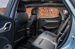 MG ZS EV 2021 interior rear seats