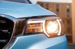 MG ZS EV 2021 headlight detail