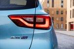 MG ZS EV 2021 rear lights detail