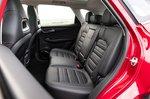 MG HS 2021 interior rear seats