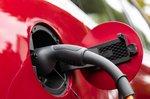 MG HS 2021 PHEV charging socket