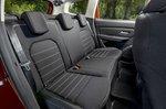 Dacia Duster 2021 rear seats