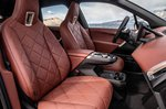 BMW iX 2021 interior front seats