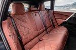 BMW iX 2021 interior rear seats