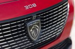 Peugeot 308 SW 2021 front badge detail