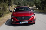 Peugeot 308 SW 2021 front tracking