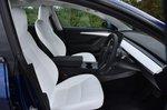 Tesla Model 3 2021 interior front seats