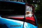 Toyota Prius 2021 rear light detail