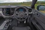 Volvo XC60 2021 interior dashboard