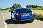 Honda Civic 2021 rear tracking