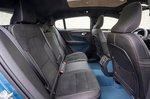 Volvo C40 Recharge 2022 interior rear seats