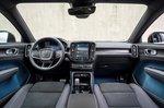 Volvo C40 Recharge 2022 interior front seats